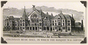 Banquet held at Music Hall